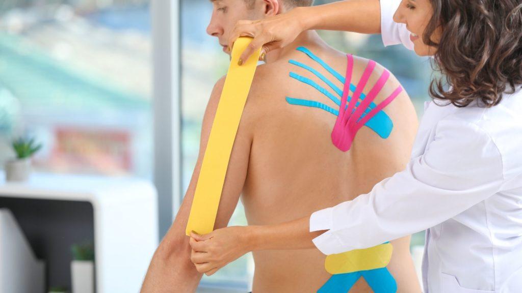 Zertifizierte Kinesiology Taping Ausbildung bei der Master Wellness Akademie als Massage und Wellnesstherapeut